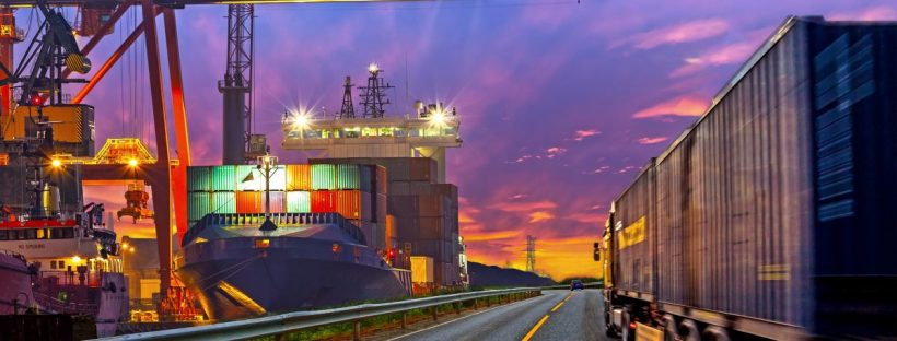 Transport morski czy lądowy